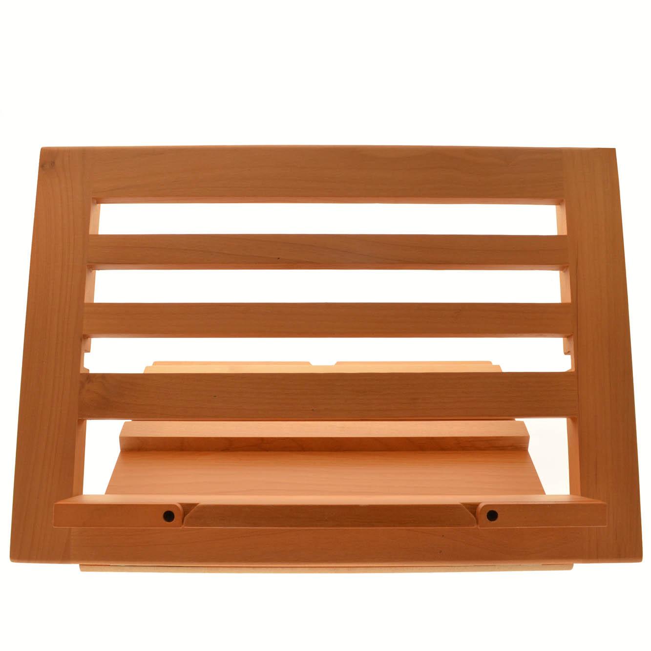 Leggio in legno da tavolo 24 x 34 in legno leggii - Costruire un leggio da tavolo ...