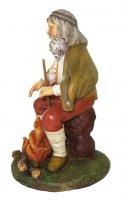 Immagine di 'Pastore con fuoco Linea Martino Landi - presepe da 12 cm'