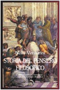 Copertina di 'Storia del pensiero filosofico. Sintesi storica e tematica con dizionarietto filosofico'