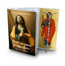 Copertina di 'Libretto con rosario San Giacomo il maggiore ? italiano'