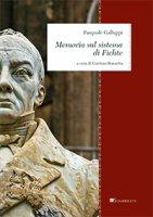 Memoria sul sistema di Fichte - Pasquale Galluppi