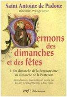 Sermons des dimanches et des f�tes - Antonio di Padova (sant')