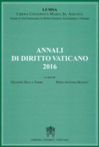 Copertina di 'Annali di Diritto vaticano 2016'
