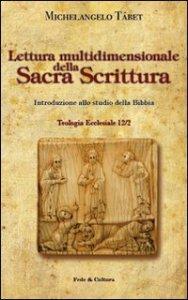 Copertina di 'Lettura multidimensionale della Sacra Scrittura'