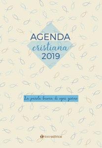 Copertina di 'AGENDA CRISTIANA 2019. La parola buona di ogni giorno'