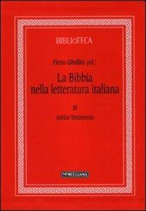 Copertina di 'La Bibbia nella letteratura italiana'
