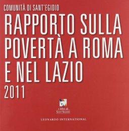 Copertina di 'Rapporto sulla povertà a Roma e nel Lazio 2011'