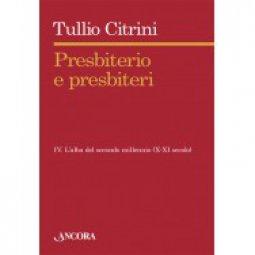 Copertina di 'Presbiterio e presbiteri - Vol. IV'