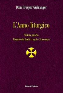 Copertina di 'L' anno liturgico. Volume 4'