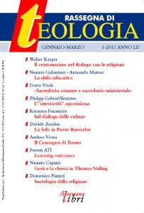 Copertina di 'Rassegna di Teologia n. 1/2011'