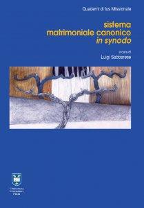 Copertina di 'Sistema matrimoniale canonico in synodo'