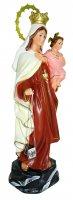 Immagine di 'Statua Madonna Vergine del Carmine in gesso - 36 cm'