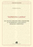 """""""Sapientia Latina"""" - Corrado Calvano"""
