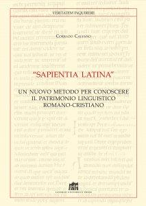 """Copertina di '""""Sapientia Latina""""'"""