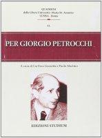 Per Giorgio Petrocchi