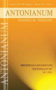 Copertina di 'Antonianum n. 1-2013'