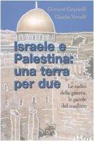 Israele e Palestina: una terra per due. Le radici della guerra, le parole del conflitto - Carpinelli Giovanni, Vercelli Claudio