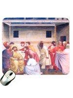 """Mousepad """"Gesù innanzi a Pilato"""" - Giotto"""