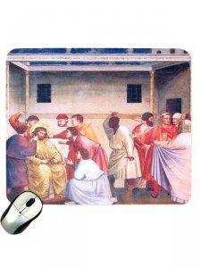 """Copertina di 'Mousepad """"Gesù innanzi a Pilato""""'"""