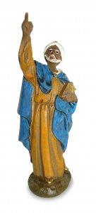 Copertina di 'Re magio Baldassarre Linea Martino Landi - presepe da 16 cm'