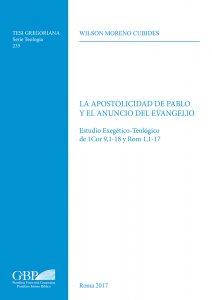 Copertina di 'La Apostolicidad de Pablo y el anuncio del evangelo'