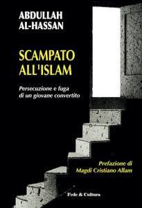 Copertina di 'Scampato all'Islam'