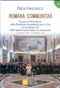 Copertina di 'Humana communitas'