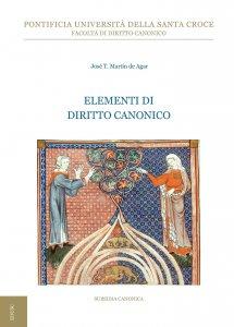 Copertina di 'Elementi di diritto canonico'