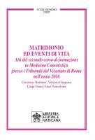 Matrimonio ed eventi di vita - Cristiano Barbieri , Vittorio Gepponi , Luigi Janiri , Luca Sansalone