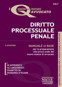Copertina di 'I Quaderni del praticante Avvocato - Diritto Processuale Penale'