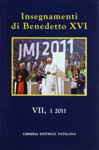 Copertina di 'Insegnamenti di Benedetto XVI  VII,1 2011'