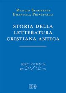Copertina di 'Storia della letteratura cristiana antica'