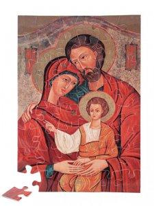"""Copertina di 'Puzzle """"Santa Famiglia"""" (48 pezzi)'"""
