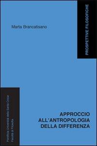 Copertina di 'Approccio all'antropologia della differenza'