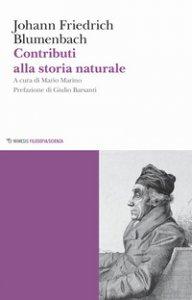 Copertina di 'Contributi alla storia naturale'