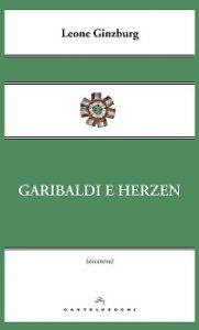 Copertina di 'Garibaldi e Herzen.'