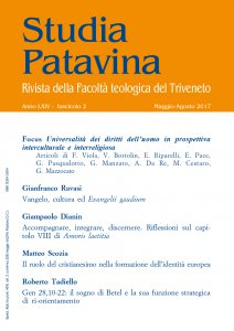 Copertina di 'Studia Patavina 2017/2'