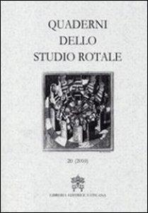 Copertina di 'Quaderni dello studio rotale'