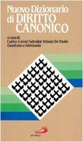 Nuovo dizionario di diritto canonico