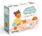 Gli oggetti della casa. I piccoli Montessori. Ediz. a colori. Con 5 carte ambienti. Con 35 carte oggetti - Adeline Charneau
