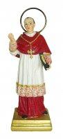 Statua di San Carlo da 12 cm in confezione regalo con segnalibro