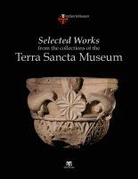 Selected Works from the collections of the Terra Sancta Museum.