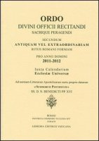 Ordo divini officii recitandi 2011-2012