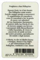 Immagine di 'Card San Pellegrino in PVC - 5,5 x 8,5 cm - italiano'