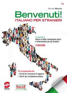 Copertina di 'Benvenuti! Corso di Italiano per stranieri'