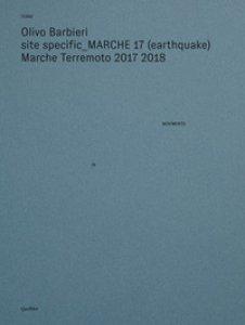 Copertina di 'Site specific Marche 17 (earthquake) Marche terremoto 2017 2018. Ediz. illustrata'