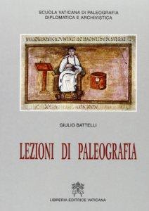 Copertina di 'Lezioni di paleografia'