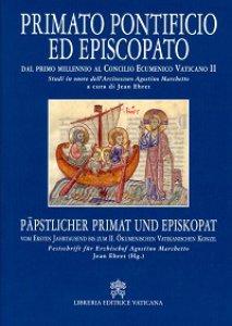 Copertina di 'Primato pontificio ed episcopato'