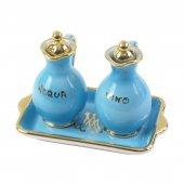 Ampolline anfora in ceramica con simbolo IHS - Modello Mariano