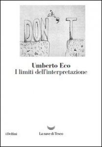 Copertina di 'I limiti dell'interpretazione'